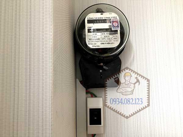 Lắp đồng hồ điện nhà trọ