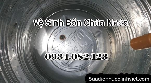Vệ sinh bồn nước inox tại Bình Thạnh